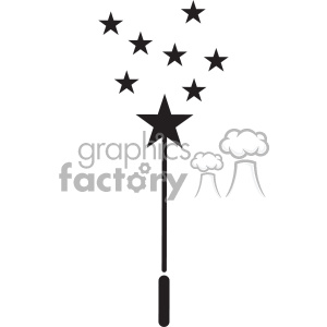 svg cut+files magic wand princess