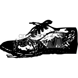 1900 vintage pettitt tennis shoe no 2 vintage 1900 vector art GF clipart. Royalty-free image # 402430