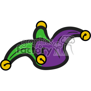 mardi gras jester vector art clipart. Royalty-free image # 403002