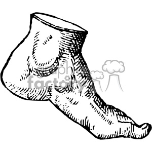 cousin jehan vintage foot vector anatomy art clipart. Royalty-free image # 403132