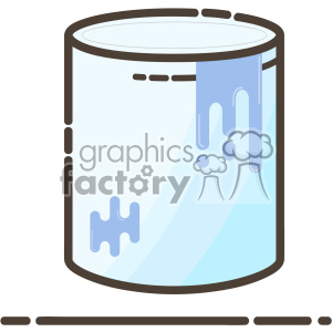 Paint bucket flat vector icon design clipart. Royalty-free image # 403192