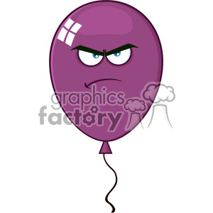 cartoon funny comical balloon balloons party birthday fun fiesta angry purple