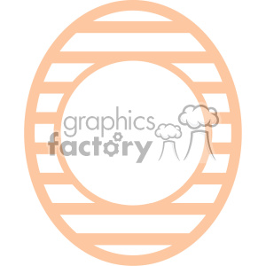 easter egg svg cut file 1 clipart. Royalty-free image # 403723