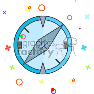 Compass vector clip art images clipart. Royalty-free image # 403882