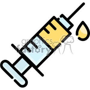 Syringe vector clip art images clipart. Royalty-free image # 403890
