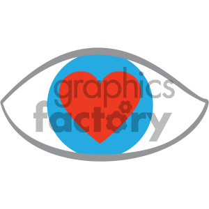 love eye icon clipart. Commercial use image # 404063