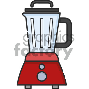 Blender vector art clipart. Commercial use image # 404110
