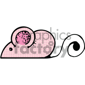 cartoon clipart mouse 008 c clipart. Royalty-free image # 404818