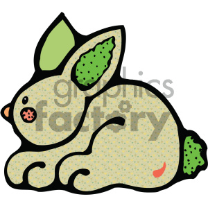 cartoon clipart bunny 005 c clipart. Royalty-free image # 404832
