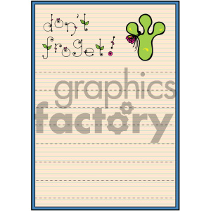 cartoon reminder list clipart. Royalty-free image # 404842