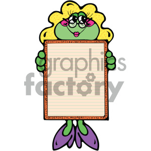 cartoon clipart frog 022 c clipart. Royalty-free image # 404928