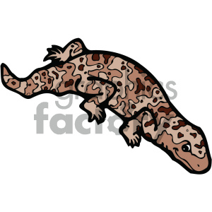 cartoon clipart reptiles 008 c clipart. Royalty-free image # 404958