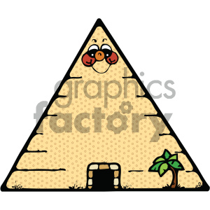 cartoon buildings architecture vector history ancient egypt egyptian pyramid pyramids PR