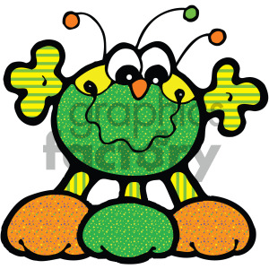 vector art martians 005 c clipart. Commercial use image # 405049