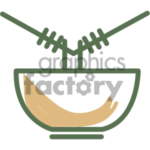 noodles food vector flat icon design clipart. Royalty-free image # 405729