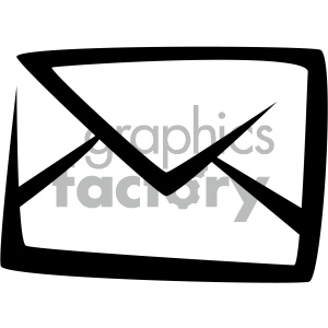 envelope mail vector flat icon clipart. Royalty-free icon # 405768