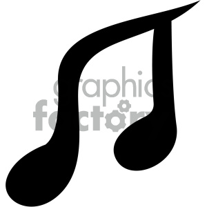 music vector flat icon clipart. Royalty-free image # 405823
