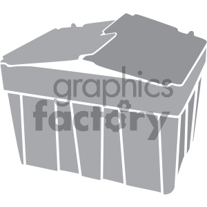 container vector icon art