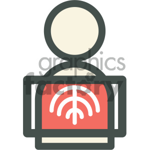 xray medical vector icon clipart. Royalty-free image # 405961