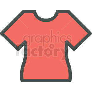 t shirt vector icon clip art clipart. Royalty-free image # 406250
