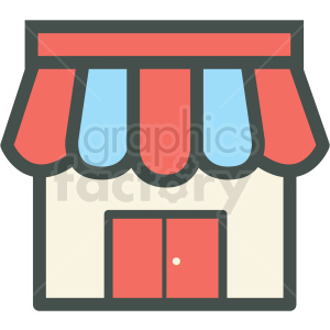 storefront vector icon clip art clipart. Royalty-free image # 406256