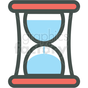 hourglass vector icon clip art clipart. Royalty-free icon # 406259