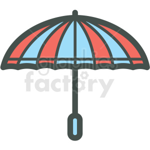 umbrella vector icon clipart. Royalty-free icon # 406444