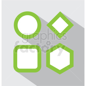 variety with square background icon clip art clipart. Royalty-free image # 406638