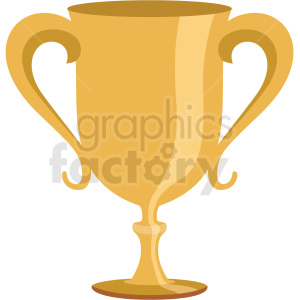 trophy vector flat icon clipart with no background clipart. Commercial use image # 406664