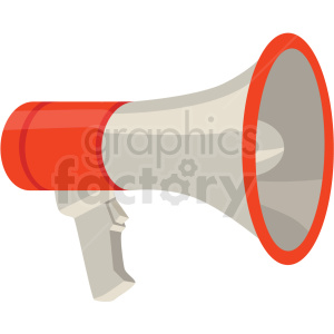 megaphone speaker vector flat icon clipart with no background clipart. Royalty-free icon # 406678