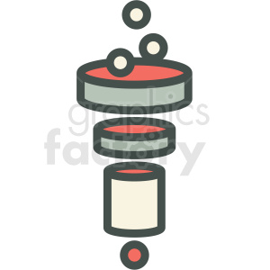 data filter vector icon clipart. Commercial use image # 406862
