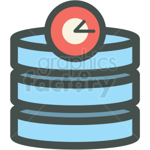 cron database backup website hosting vector icons clipart. Royalty-free icon # 406929