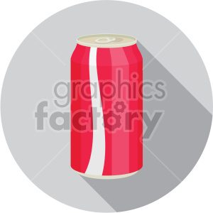 icons soda can cola drink beverage