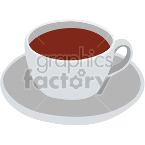 coffee cup flat icons