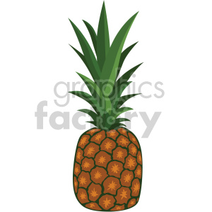 icons pineapple fruit food