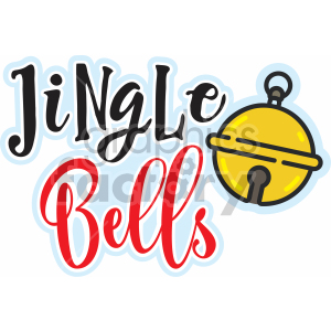 jingle bells vector svg cut file clipart. Royalty-free image # 407213
