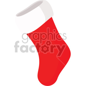 christmas stocking icon clipart. Royalty-free image # 407306