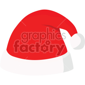 christmas santa hat icon clipart. Royalty-free image # 407315