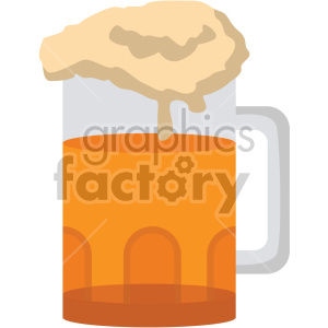 beer glass no background clipart. Royalty-free image # 407400