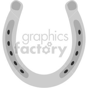st patricks day lucky horseshoe no background clipart. Royalty-free image # 407677