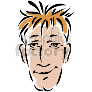 man's face clipart. Royalty-free image # 157273