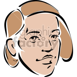 female face clipart. Royalty-free image # 157345