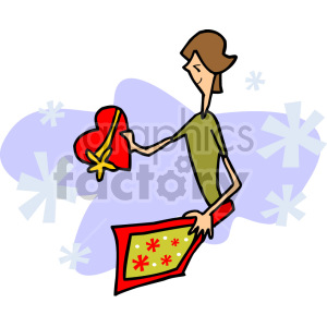 valentines gift clipart. Royalty-free image # 155269