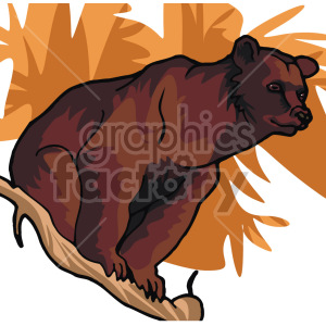 bear clipart. Royalty-free image # 129284