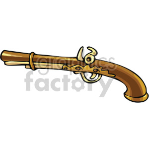 old pistol clipart. Commercial use image # 407797