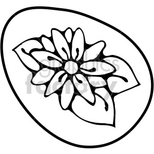 Easter Egg 01 clipart. Royalty-free image # 407875