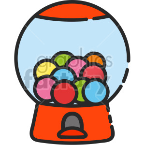 Bubblegum Machine clipart. Commercial use icon # 407943