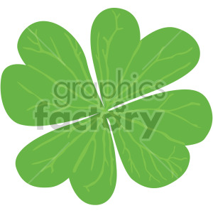 four leaf clover clipart. Royalty-free image # 408065