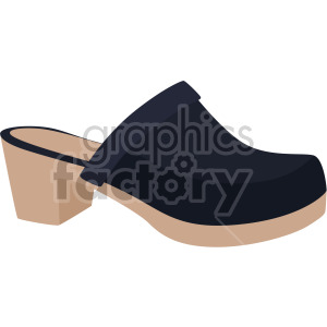 clogs shoes clipart. Royalty-free image # 408147