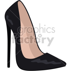 womans black high heels clipart. Royalty-free image # 408165